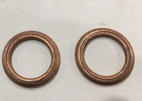 Copper jacket Graphite o rings > Copper washers > Gaskets > NINGBO ...